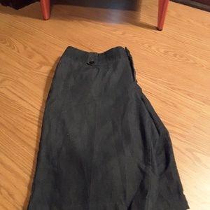 Cato Woman black denim jean short size 18W
